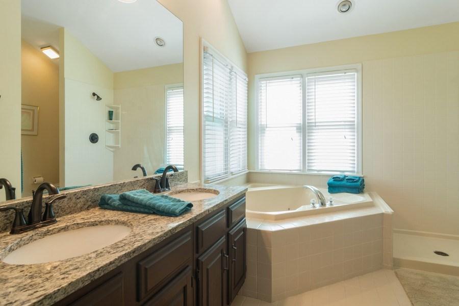 Real Estate Photography - 23975 East Lancaster Ct, Deer Park, IL, 60010 - Master Bathroom