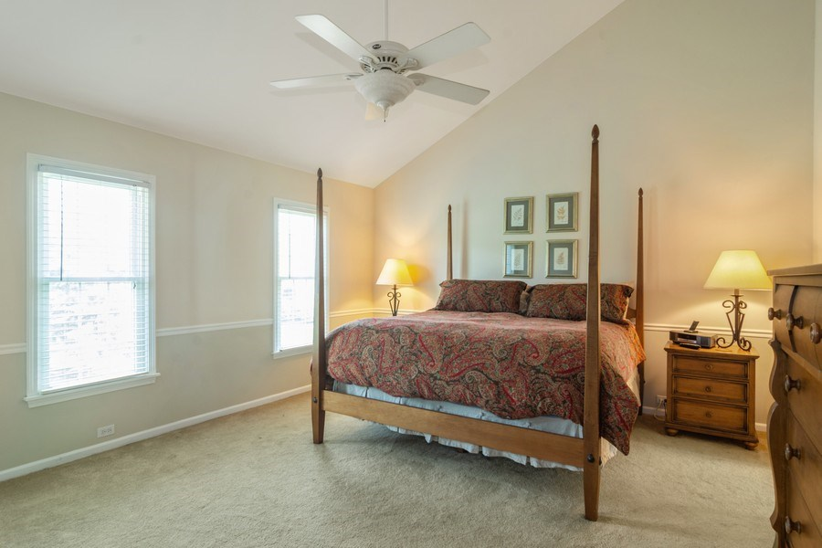Real Estate Photography - 23975 East Lancaster Ct, Deer Park, IL, 60010 - Master Bedroom