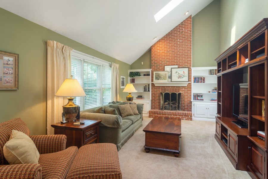 Real Estate Photography - 23975 East Lancaster Ct, Deer Park, IL, 60010 - Family Room