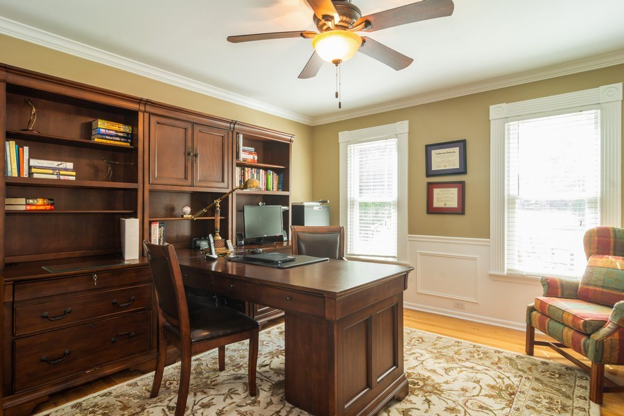 Real Estate Photography - 23975 East Lancaster Ct, Deer Park, IL, 60010 - Office
