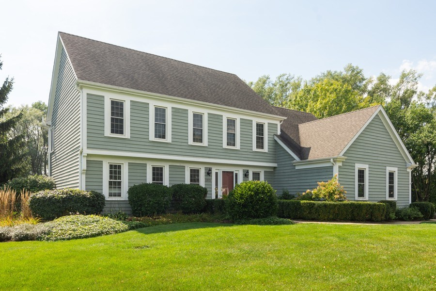 Real Estate Photography - 23975 East Lancaster Ct, Deer Park, IL, 60010 - Front View