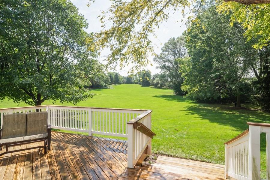 Real Estate Photography - 23975 East Lancaster Ct, Deer Park, IL, 60010 - Deck