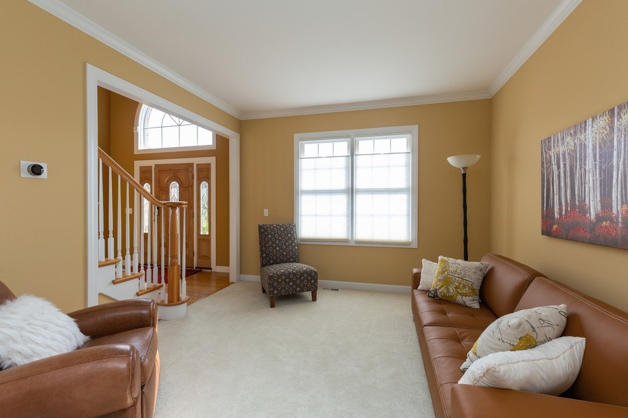 Real Estate Photography - 906 Sunrise Dr, South Elgin, IL, 60177 - Living Room