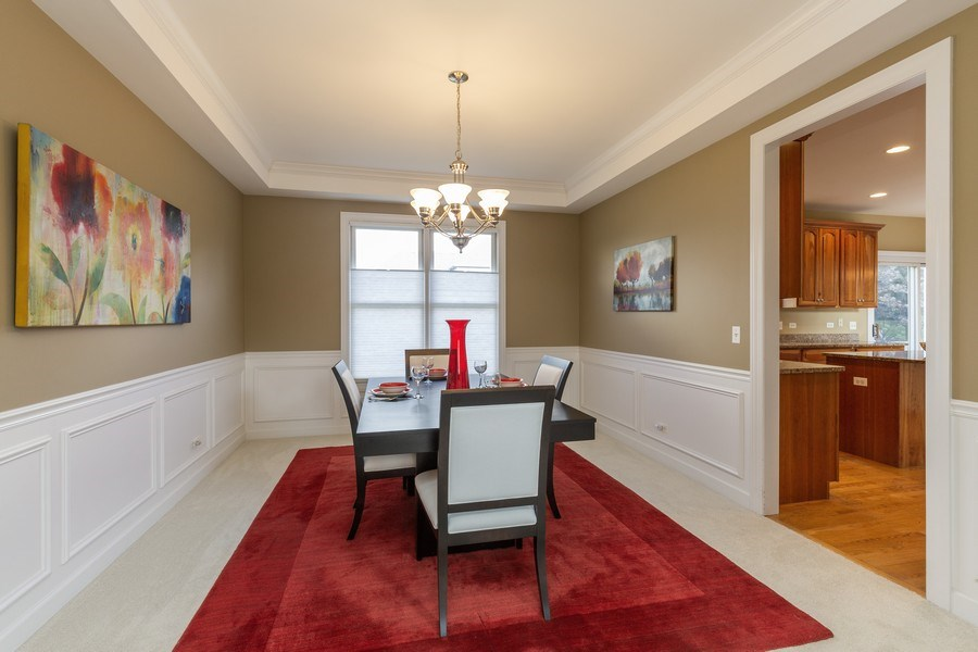 Real Estate Photography - 906 Sunrise Dr, South Elgin, IL, 60177 - Dining Room