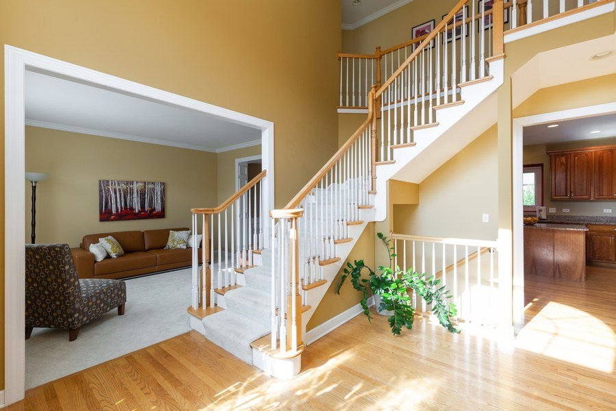 Real Estate Photography - 906 Sunrise Dr, South Elgin, IL, 60177 - Foyer