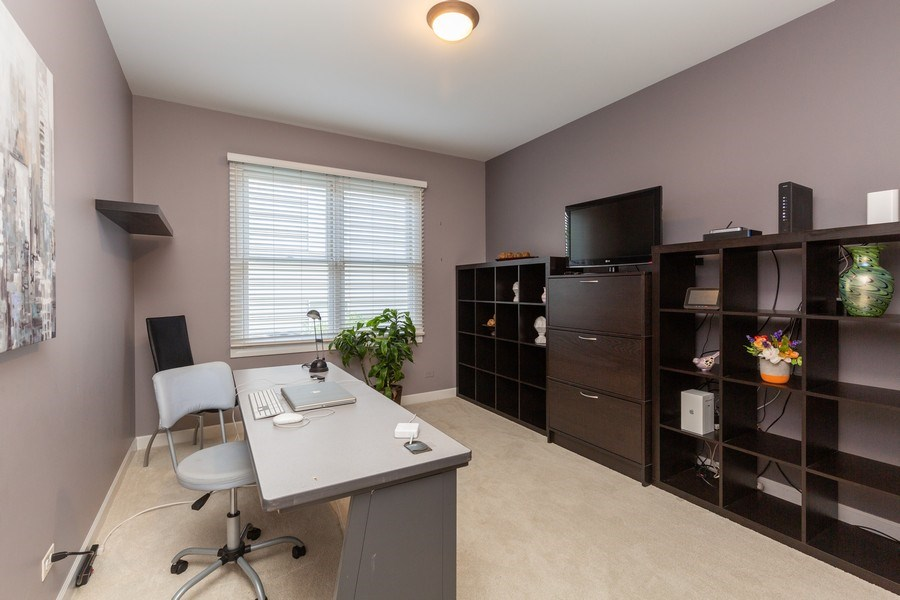 Real Estate Photography - 906 Sunrise Dr, South Elgin, IL, 60177 - Office