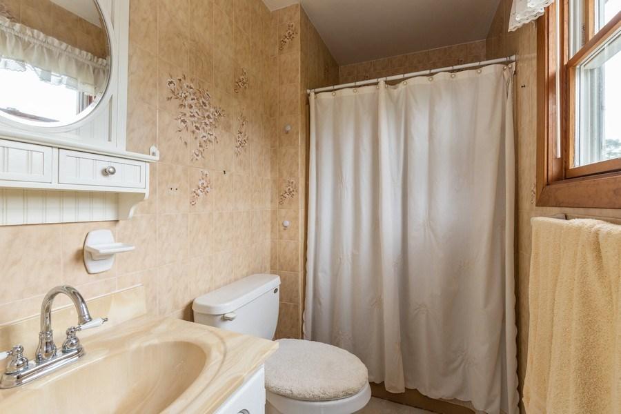 Real Estate Photography - 10281 West Talmadge Ave, Beach Park, IL, 60087 - Master Bathroom