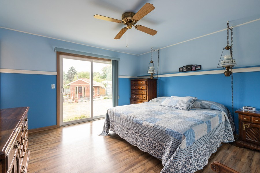 Real Estate Photography - 10281 West Talmadge Ave, Beach Park, IL, 60087 - Master Bedroom