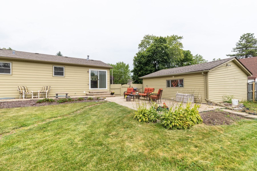 Real Estate Photography - 10281 West Talmadge Ave, Beach Park, IL, 60087 - Rear View