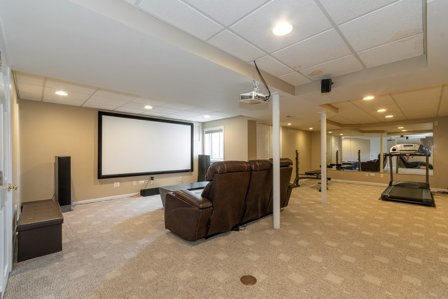 Real Estate Photography - 2833 Mapleside Ct, Aurora, IL, 60502 - Basement