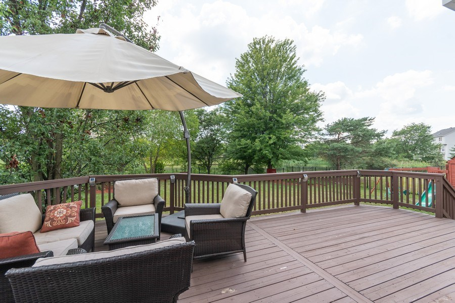 Real Estate Photography - 2833 Mapleside Ct, Aurora, IL, 60502 - Back Yard
