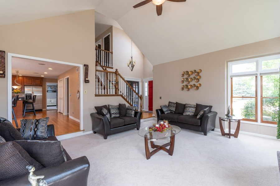 Real Estate Photography - 2833 Mapleside Ct, Aurora, IL, 60502 - Family Room