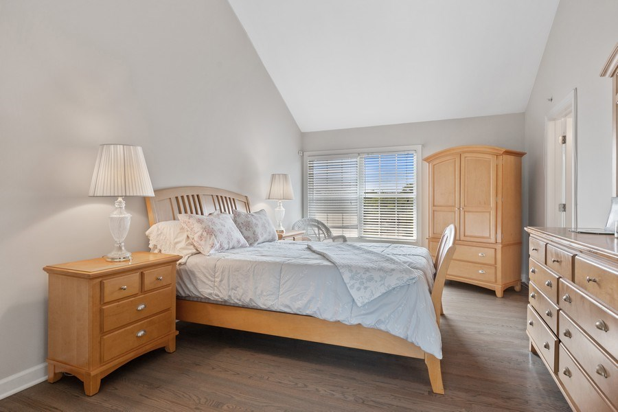 Real Estate Photography - 1719 Dewes St, Glenview, IL, 60025 - Master Bedroom