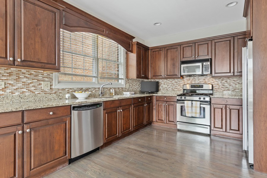 Real Estate Photography - 1719 Dewes St, Glenview, IL, 60025 - Kitchen