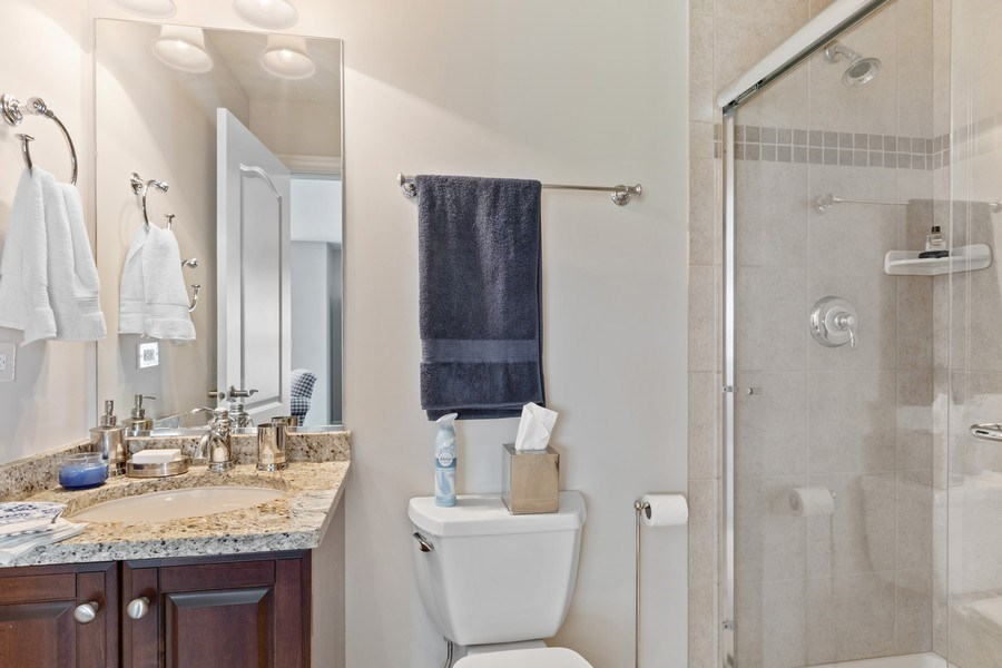 Real Estate Photography - 1719 Dewes St, Glenview, IL, 60025 - Bathroom