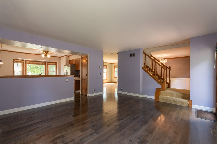 Real Estate Photography - 617 Maves Dr, Batavia, IL, 60510 - Family Room