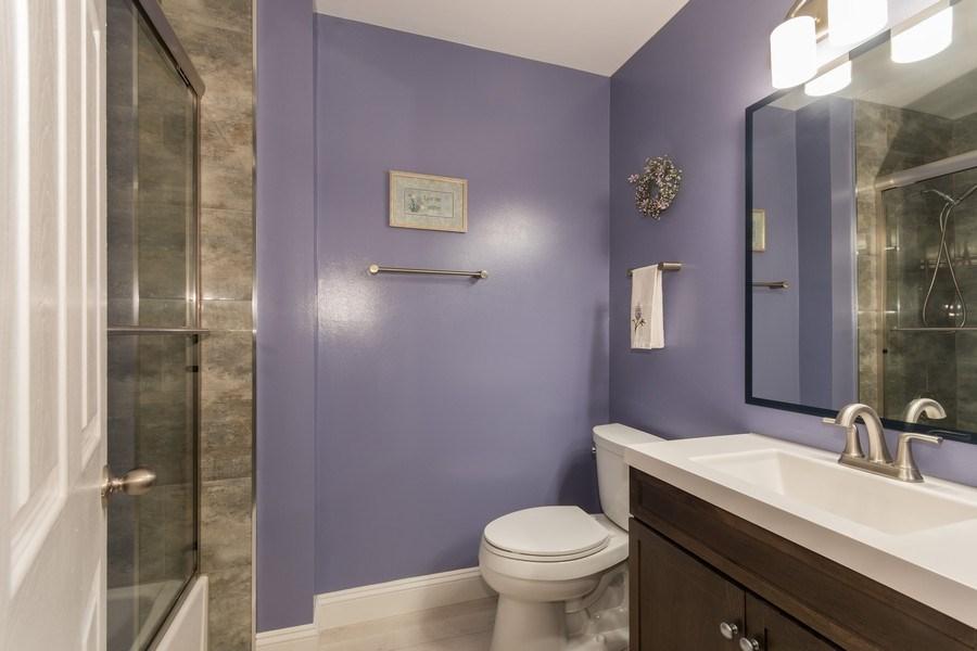 Real Estate Photography - 617 Maves Dr, Batavia, IL, 60510 - 2nd Bathroom