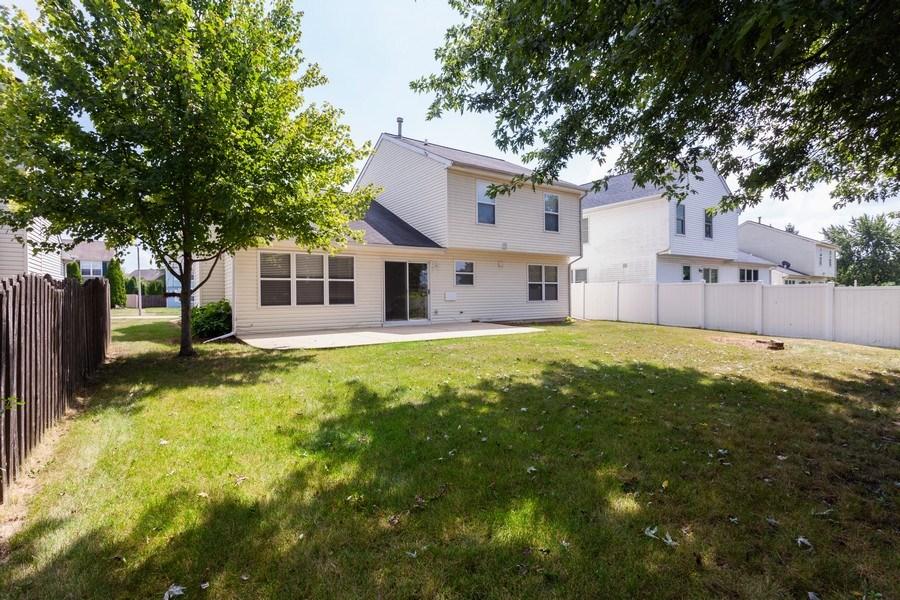 Real Estate Photography - 621 Spicebush Ln, Aurora, IL, 60504 - Rear View
