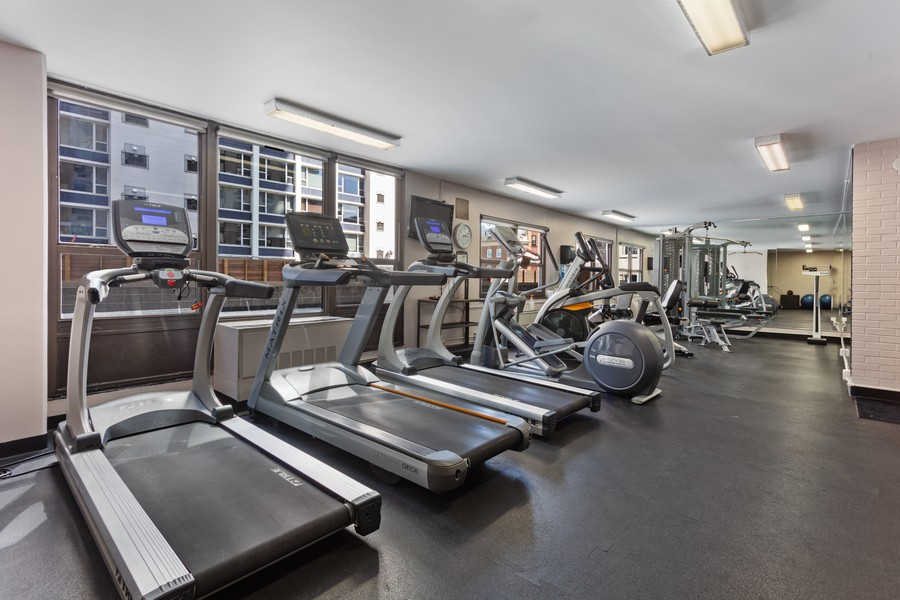 Real Estate Photography - 1313 North Ritchie Ct, 1704, Chicago, IL, 60610 - Gym
