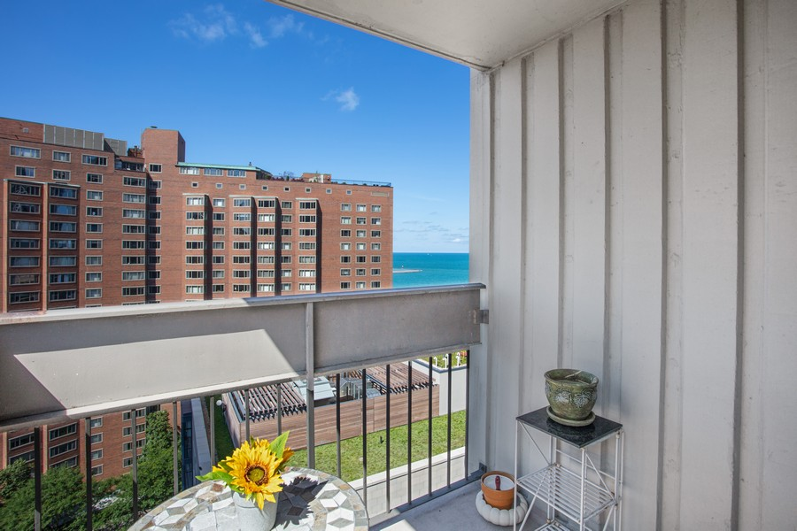 Real Estate Photography - 1313 North Ritchie Ct, 1704, Chicago, IL, 60610 - Balcony