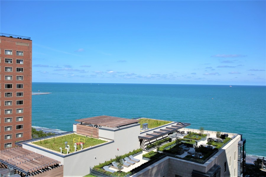 Real Estate Photography - 1313 North Ritchie Ct, 1704, Chicago, IL, 60610 - View from residence 1704