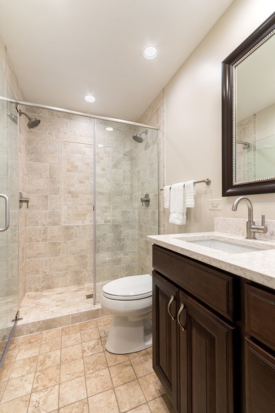 Real Estate Photography - 914 Monticello Dr, Naperville, IL, 60563 - Master Bathroom