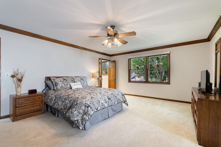 Real Estate Photography - 914 Monticello Dr, Naperville, IL, 60563 - Master Bedroom