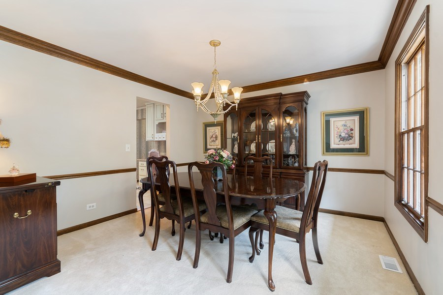 Real Estate Photography - 914 Monticello Dr, Naperville, IL, 60563 - Dining Room
