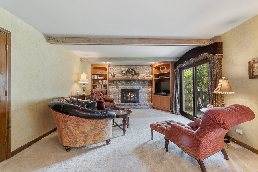 Real Estate Photography - 914 Monticello Dr, Naperville, IL, 60563 - Family Room