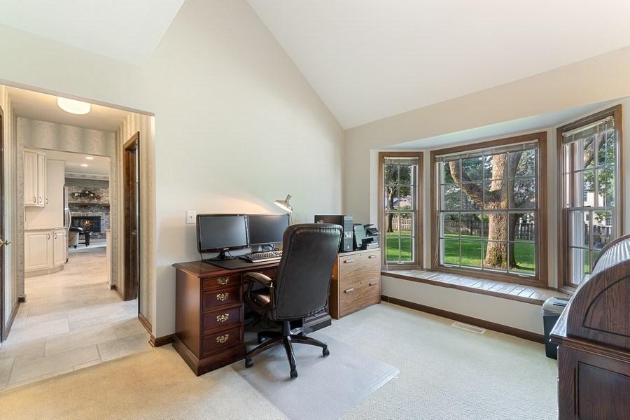 Real Estate Photography - 914 Monticello Dr, Naperville, IL, 60563 - Den