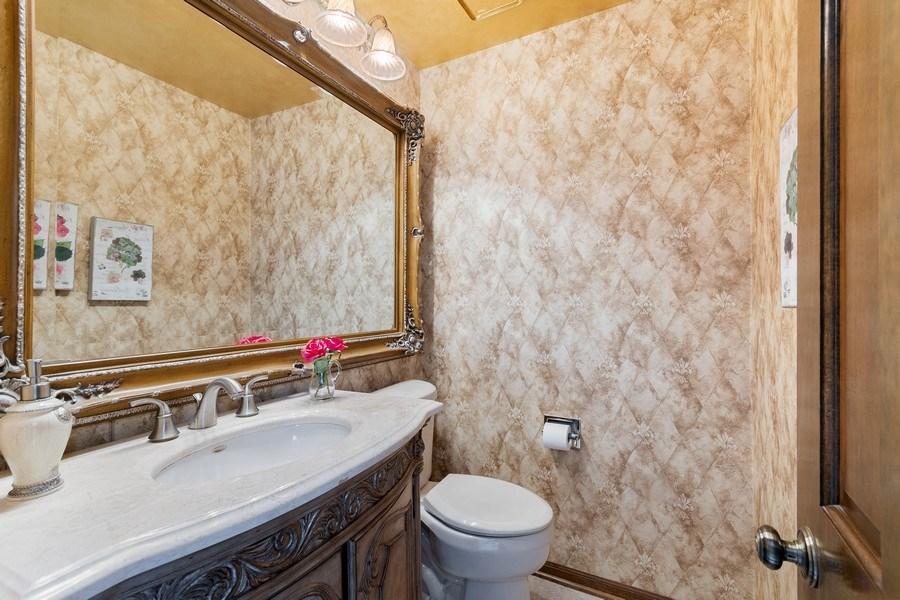 Real Estate Photography - 914 Monticello Dr, Naperville, IL, 60563 - Half Bath