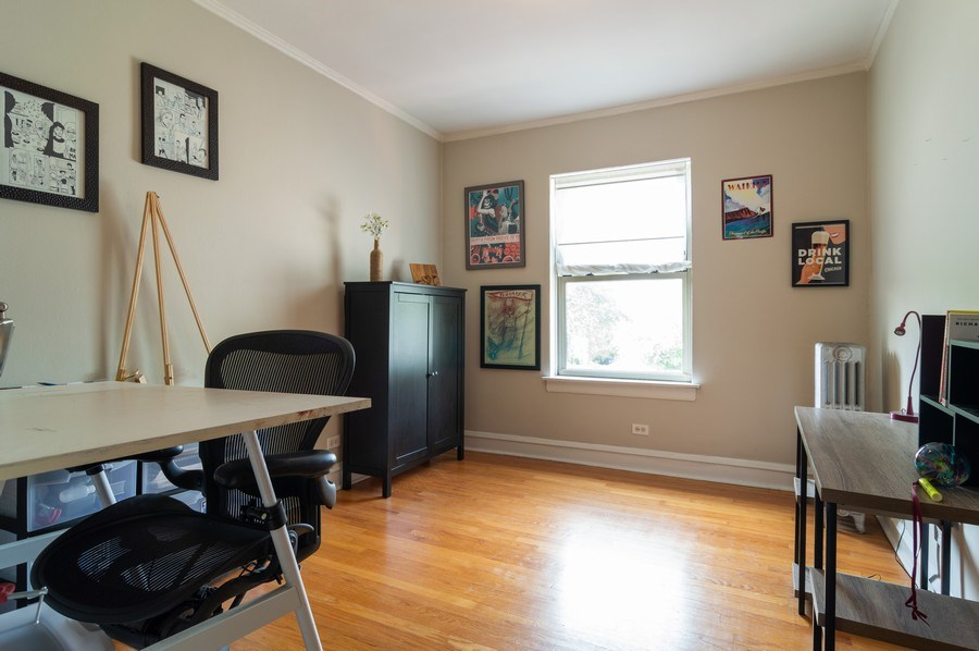 Real Estate Photography - 4130 North Kedvale Ave, 308, Chicago, IL, 60641 - 2nd Bedroom