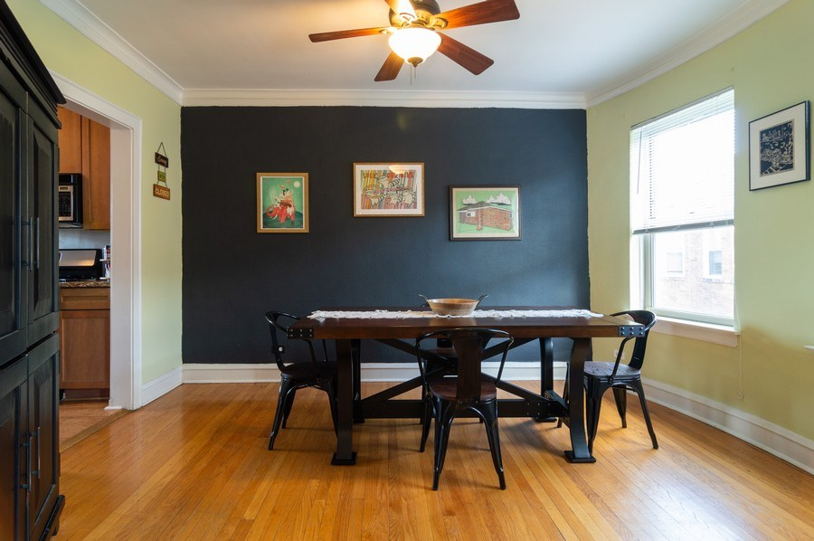 Real Estate Photography - 4130 North Kedvale Ave, 308, Chicago, IL, 60641 - Dining Room