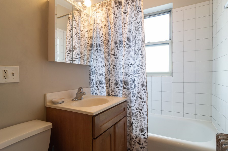 Real Estate Photography - 4130 North Kedvale Ave, 308, Chicago, IL, 60641 - Bathroom