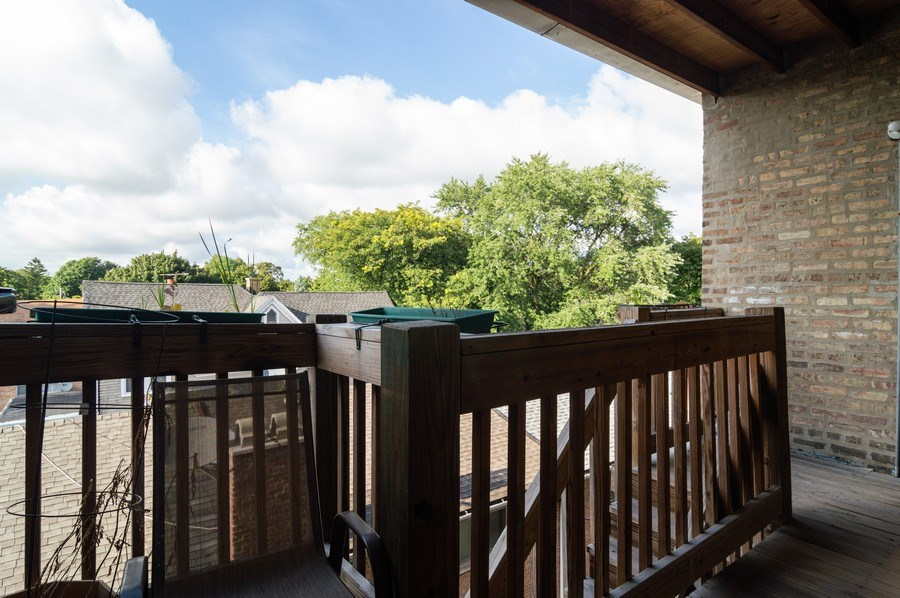 Real Estate Photography - 4130 North Kedvale Ave, 308, Chicago, IL, 60641 - Balcony