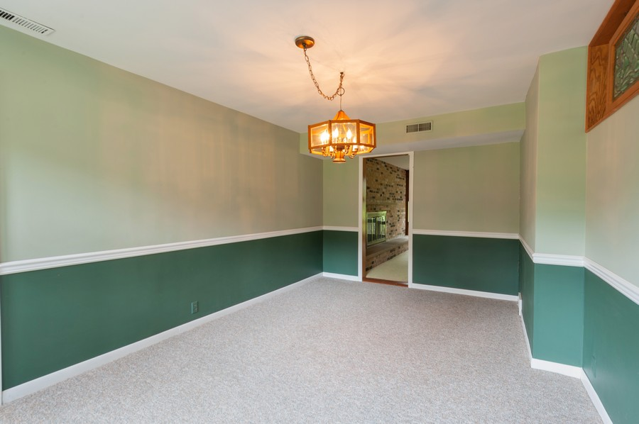 Real Estate Photography - 39535 North Beck Rd, Lake Villa, IL, 60046 - Dining Room