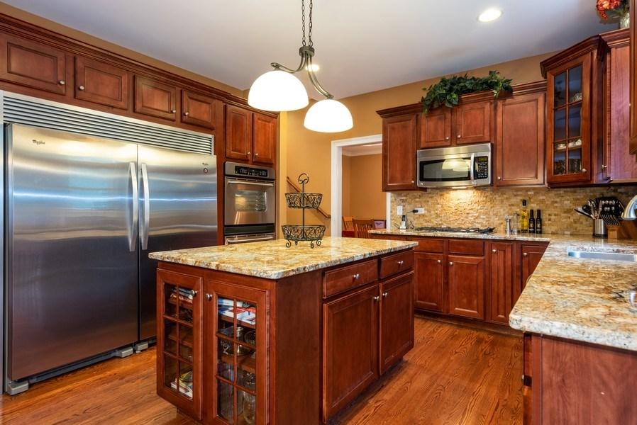 Real Estate Photography - 3320 Thunderbird Ln, Prairie Grove, IL, 60012 - Kitchen