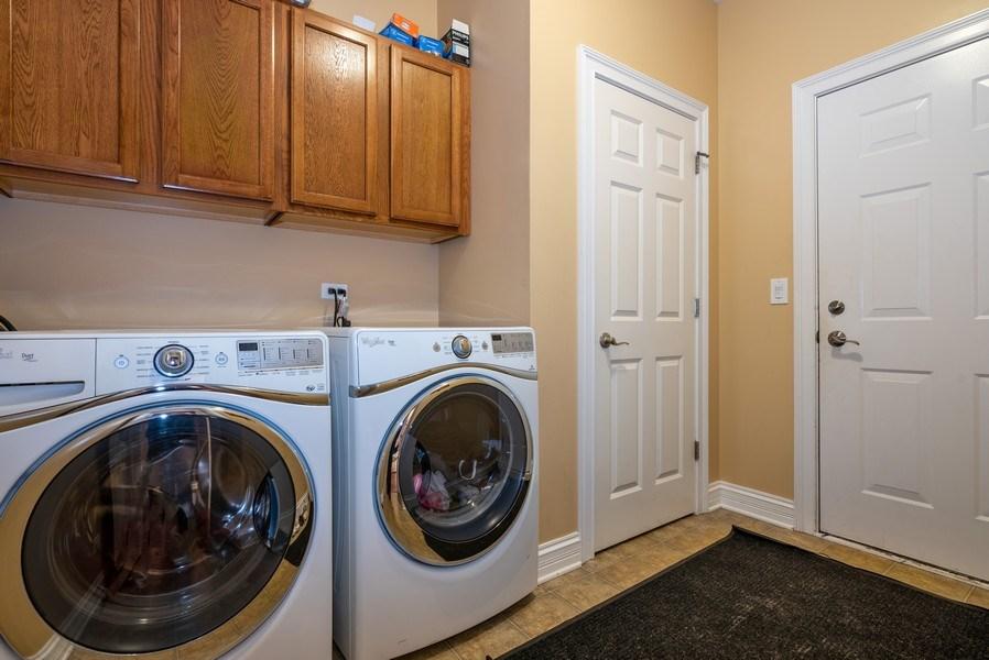 Real Estate Photography - 3320 Thunderbird Ln, Prairie Grove, IL, 60012 - Laundry Room