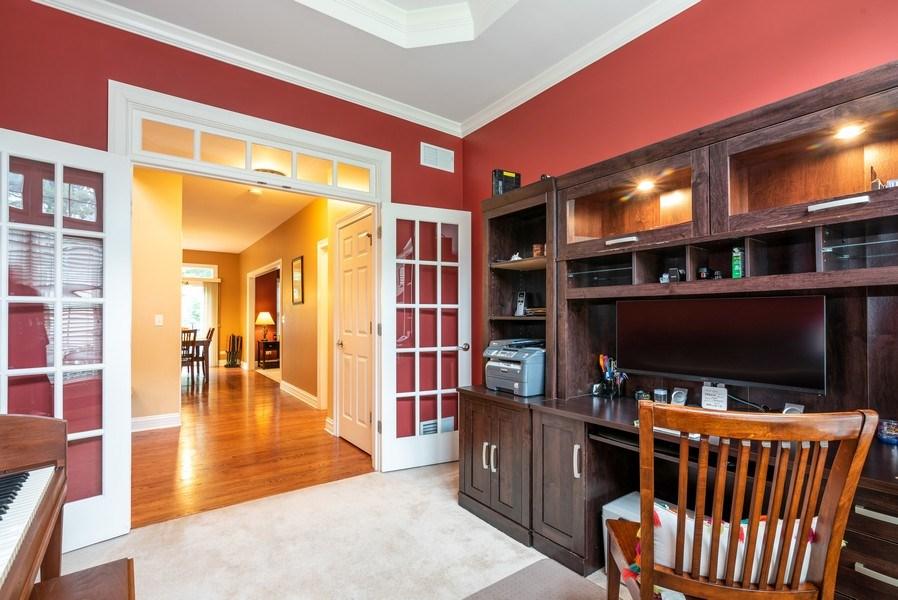 Real Estate Photography - 3320 Thunderbird Ln, Prairie Grove, IL, 60012 - Office