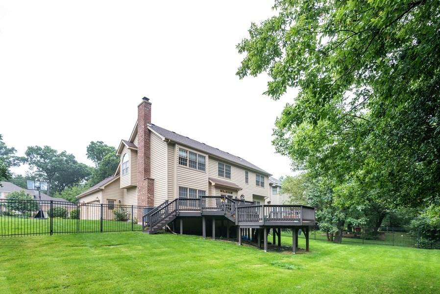 Real Estate Photography - 3320 Thunderbird Ln, Prairie Grove, IL, 60012 - Rear View