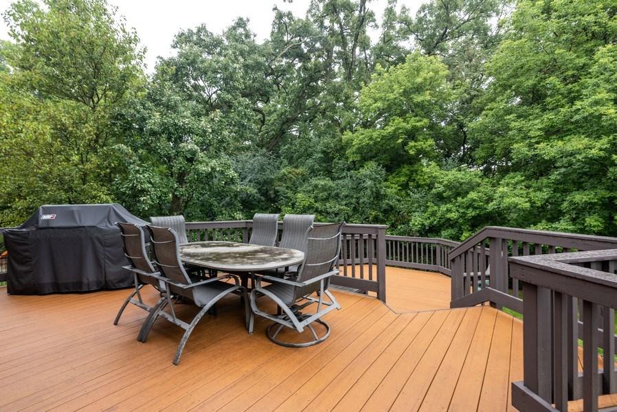 Real Estate Photography - 3320 Thunderbird Ln, Prairie Grove, IL, 60012 - Deck