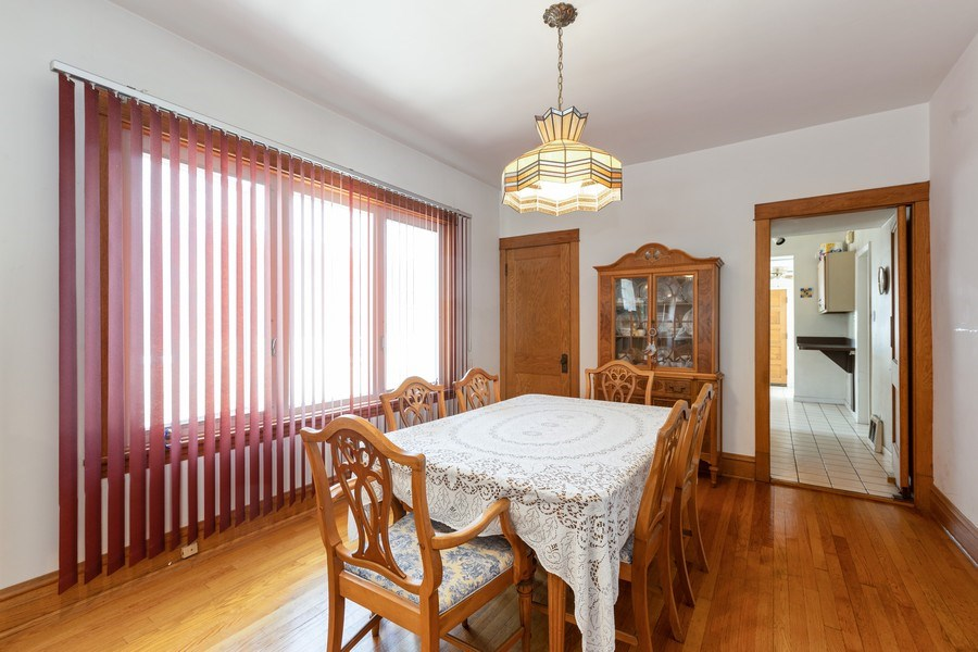 Real Estate Photography - 4865 West Addison St, Chicago, IL, 60641 - Dining Room