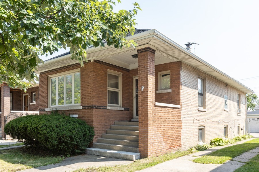 Real Estate Photography - 4865 West Addison St, Chicago, IL, 60641 - Front View