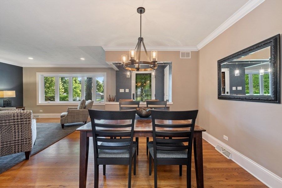 Real Estate Photography - 254 Scott Ave, Glen Ellyn, IL, 60137 - Dining Room