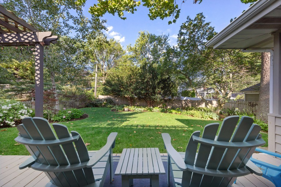 Real Estate Photography - 254 Scott Ave, Glen Ellyn, IL, 60137 - Back Yard