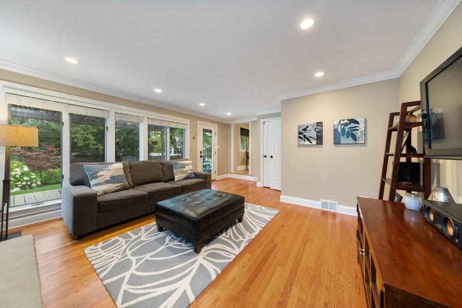 Real Estate Photography - 254 Scott Ave, Glen Ellyn, IL, 60137 - Family Room