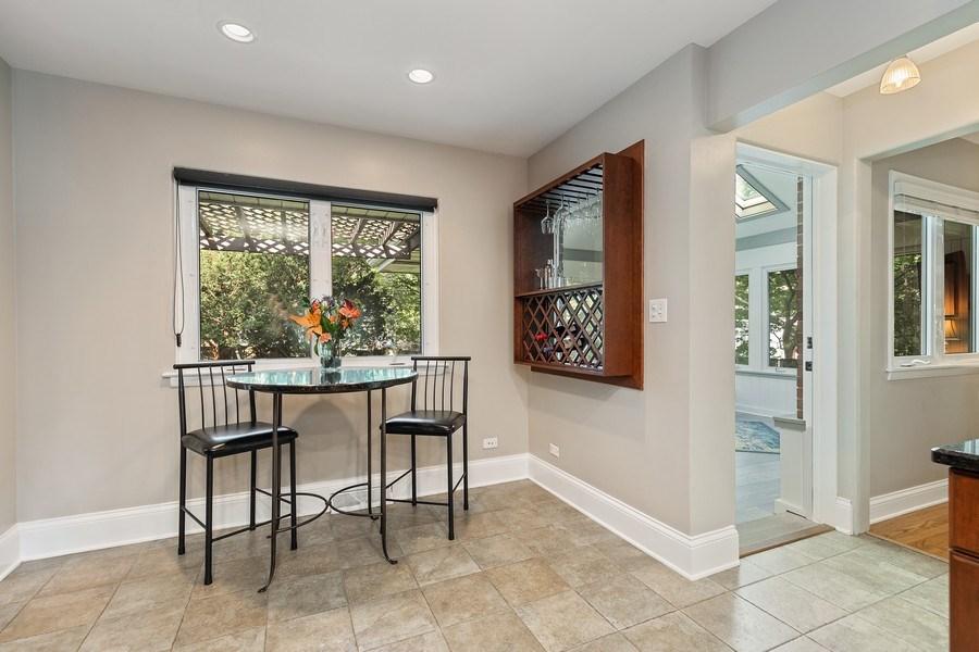 Real Estate Photography - 254 Scott Ave, Glen Ellyn, IL, 60137 - Breakfast Area