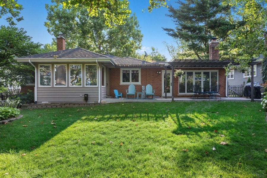 Real Estate Photography - 254 Scott Ave, Glen Ellyn, IL, 60137 - Rear View