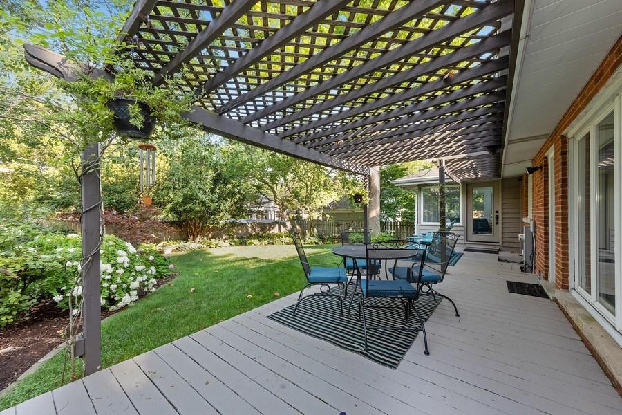 Real Estate Photography - 254 Scott Ave, Glen Ellyn, IL, 60137 - Patio