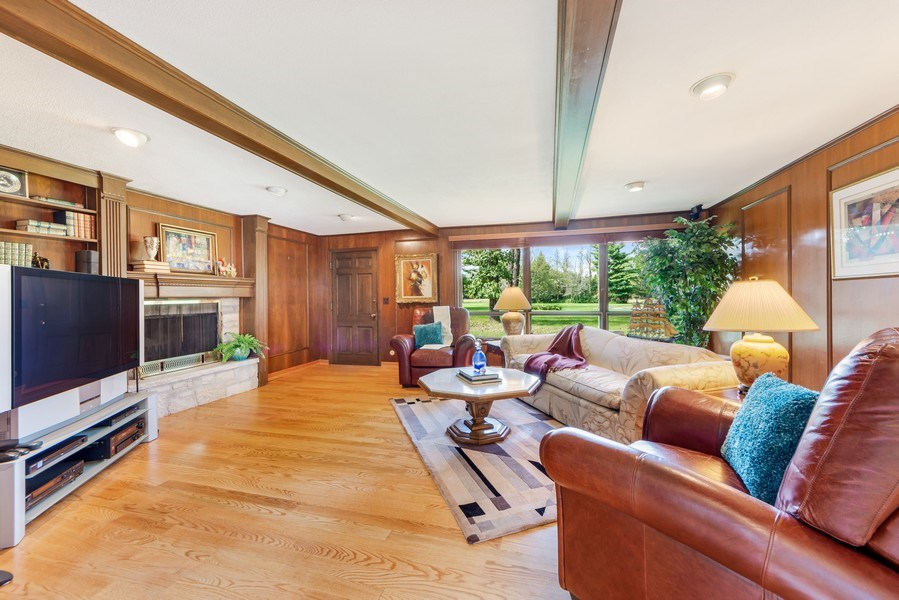 Real Estate Photography - 37 Braeburn Ln, Barrington Hills, IL, 60010 - Family Room